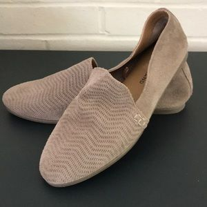 Lucky brand suede loafers. Size 7.5